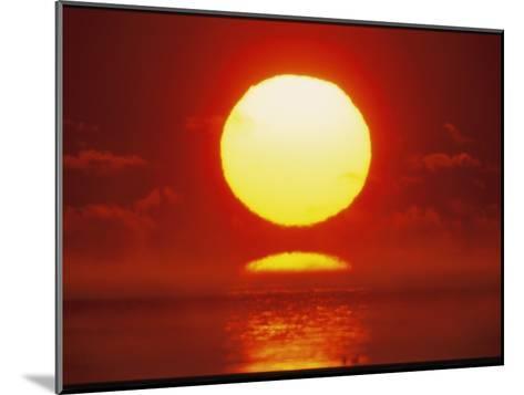 Brilliant Sunrise Over Nosuke Bay-Tim Laman-Mounted Photographic Print