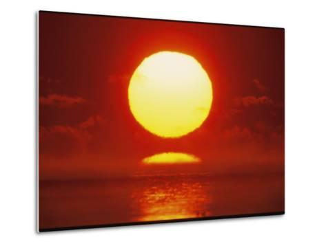 Brilliant Sunrise Over Nosuke Bay-Tim Laman-Metal Print