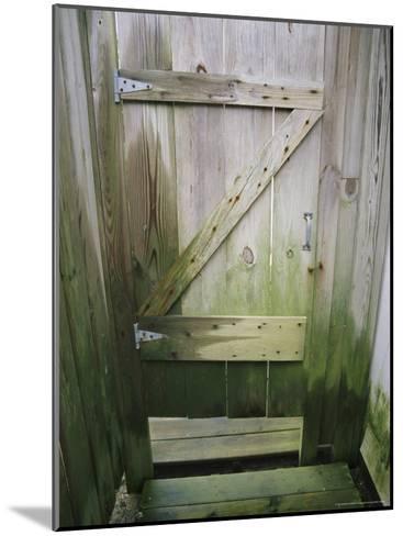 Weathered Door at a Seaside Cottage-Vlad Kharitonov-Mounted Photographic Print