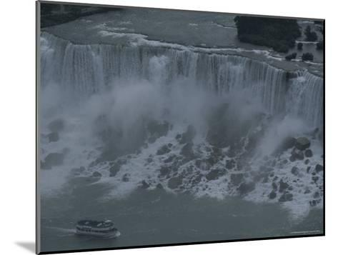 Elevated View of Niagara Falls-Todd Gipstein-Mounted Photographic Print