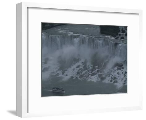 Elevated View of Niagara Falls-Todd Gipstein-Framed Art Print