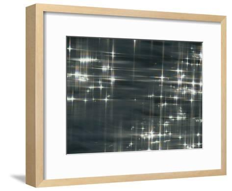 Bursts of Sunlight on the Surface of Water-Todd Gipstein-Framed Art Print