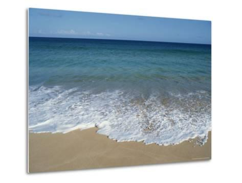 Blue Waters at Papohaku Beach-Rich Reid-Metal Print