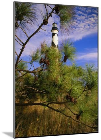 Cape Lookout Light, Prototype For All Outer Banks Lighthouses-Raymond Gehman-Mounted Photographic Print