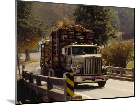 Logs are Hauled Out of Jefferson National Forest-Raymond Gehman-Mounted Photographic Print