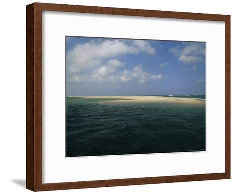 Mouth of the Nauset Marsh and Bigger Waters-Michael Melford-Framed Art Print