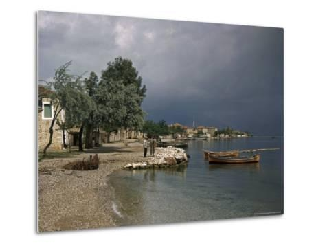 Psathopyrogos Lies at the Entrance To the Historic Gulf of Corinth-B^ Anthony Stewart-Metal Print