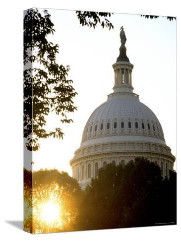 Dome of the United States Capitol-Rex Stucky-Stretched Canvas Print