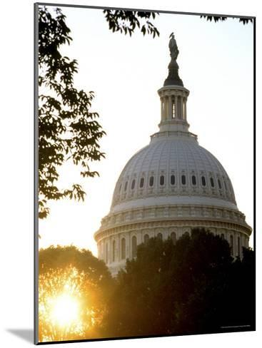 Dome of the United States Capitol-Rex Stucky-Mounted Photographic Print