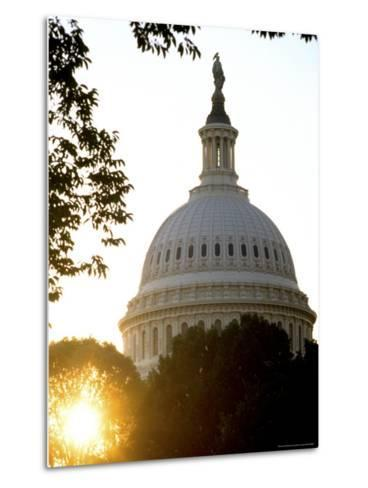 Dome of the United States Capitol-Rex Stucky-Metal Print
