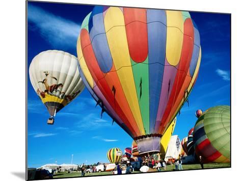 Hot Air Balloons at Annual Great Reno Balloon Race-Judy Bellah-Mounted Photographic Print