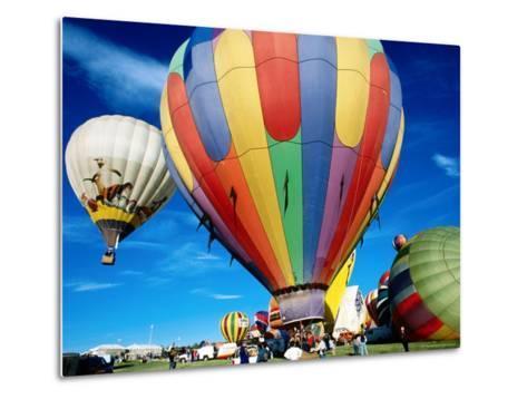 Hot Air Balloons at Annual Great Reno Balloon Race-Judy Bellah-Metal Print