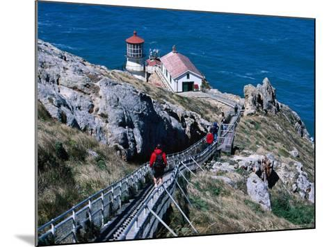 302 Steps Lead to Point Reyes Lighthouse-Judy Bellah-Mounted Photographic Print
