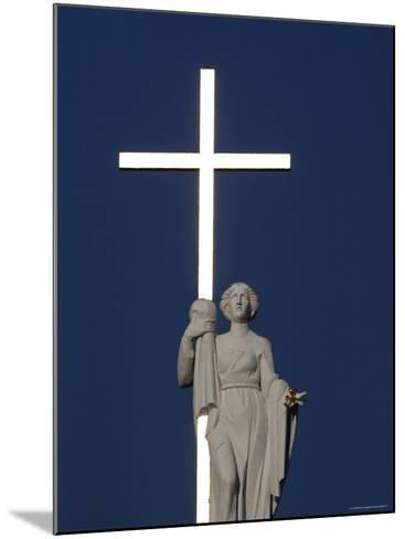 St Helen Holding a Golden Cross on Top of Vinius Cathedral-Bruce Bi-Mounted Photographic Print