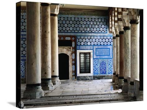 Circumcision Room's Door, Topkapi Palace-Izzet Keribar-Stretched Canvas Print