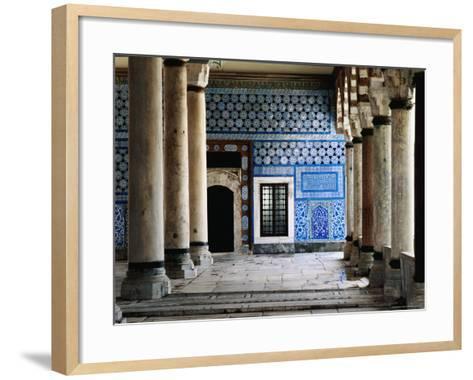 Circumcision Room's Door, Topkapi Palace-Izzet Keribar-Framed Art Print