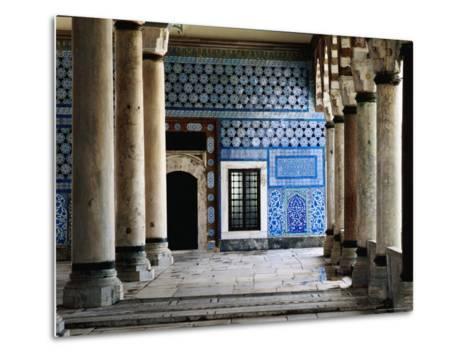 Circumcision Room's Door, Topkapi Palace-Izzet Keribar-Metal Print