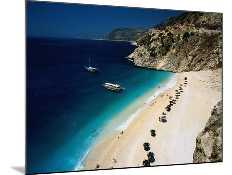 Kaputas Cove and Beach-Izzet Keribar-Mounted Photographic Print
