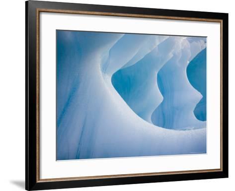 Iceberg-Andrew Peacock-Framed Art Print