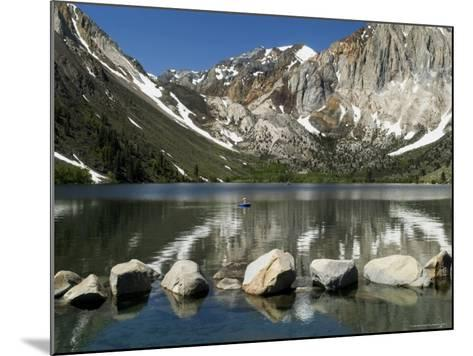 Trout Fishing on Convict Lake-Emily Riddell-Mounted Photographic Print