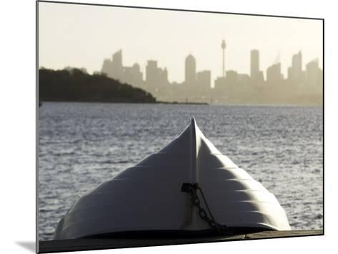 Upturned Dinghy, Watsons Bay-Oliver Strewe-Mounted Photographic Print