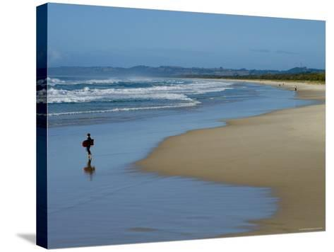 Ocean Beach-Greg Elms-Stretched Canvas Print