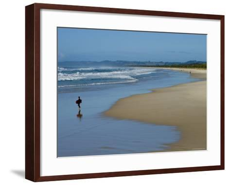 Ocean Beach-Greg Elms-Framed Art Print