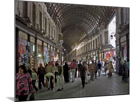 Damascus' Prime Shopping Arcade, Souq Al-Hamidiyya-Patrick Horton-Mounted Photographic Print