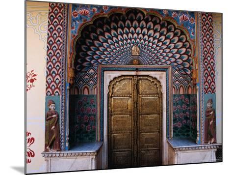Lotus Gate in Pitam Niwas Chowk in City Palace-Richard I'Anson-Mounted Photographic Print