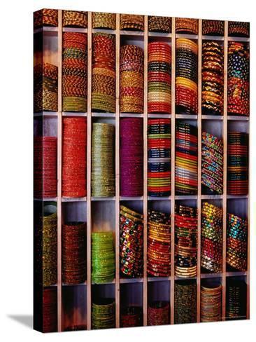 Bangle Shop at Tripolia Bazaar-Richard I'Anson-Stretched Canvas Print
