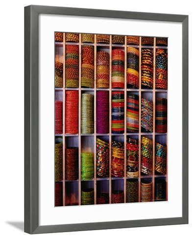 Bangle Shop at Tripolia Bazaar-Richard I'Anson-Framed Art Print