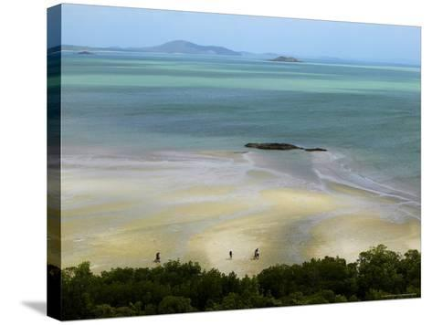 Overhead of Cape York, Mainland Australia's Northernmost Point-Johnny Haglund-Stretched Canvas Print