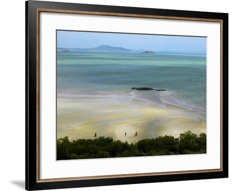 Overhead of Cape York, Mainland Australia's Northernmost Point-Johnny Haglund-Framed Art Print