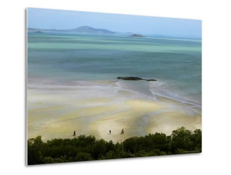 Overhead of Cape York, Mainland Australia's Northernmost Point-Johnny Haglund-Metal Print