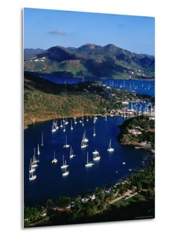 Overview of English Harbour from Shirley Heights-Richard I'Anson-Metal Print