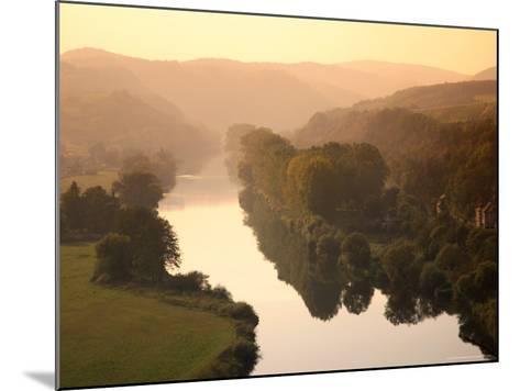 Vltava Moldau River from Karlstejn Castle-Christer Fredriksson-Mounted Photographic Print