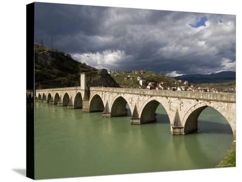 Mehmed Pasa Sokolovic Bridge over the Drina River-Patrick Horton-Stretched Canvas Print