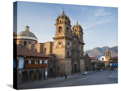 Quiet Morning Streets in Cusco-Ralph Lee Hopkins-Stretched Canvas Print