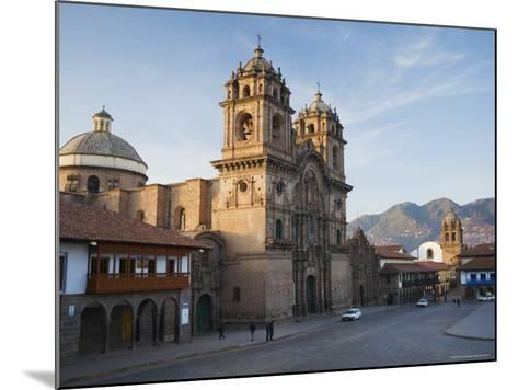 Quiet Morning Streets in Cusco-Ralph Lee Hopkins-Mounted Photographic Print