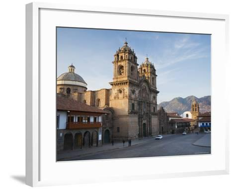 Quiet Morning Streets in Cusco-Ralph Lee Hopkins-Framed Art Print