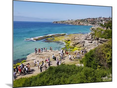 Mckenzies Bay, and the Bondi to Tamarama Walkway-Oliver Strewe-Mounted Photographic Print