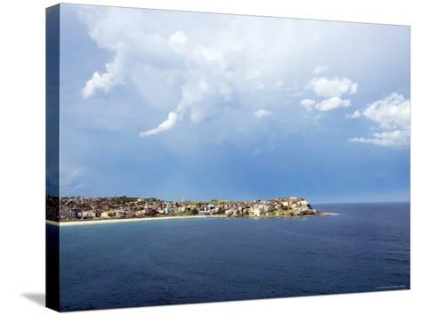 Clouds over Ben Buckler, Bondi Beach-Oliver Strewe-Stretched Canvas Print