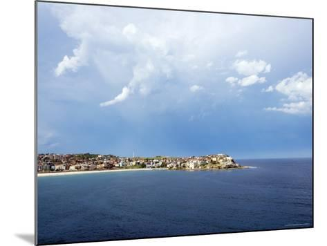 Clouds over Ben Buckler, Bondi Beach-Oliver Strewe-Mounted Photographic Print