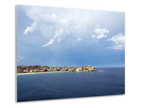 Clouds over Ben Buckler, Bondi Beach-Oliver Strewe-Metal Print