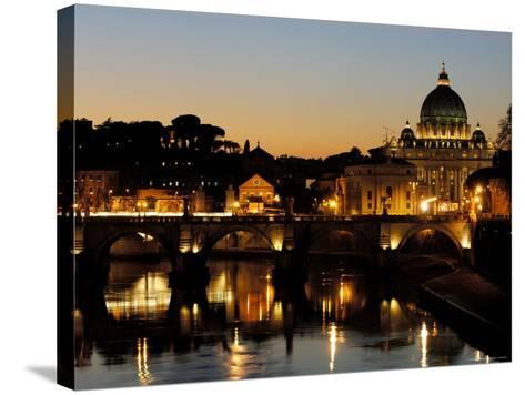 St Peter's Basilica-Paolo Cordelli-Stretched Canvas Print