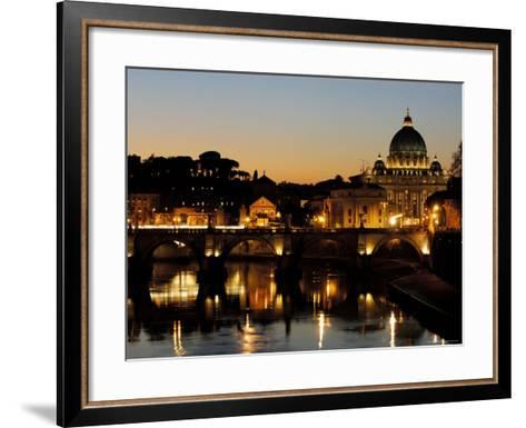St Peter's Basilica-Paolo Cordelli-Framed Art Print