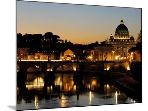 St Peter's Basilica-Paolo Cordelli-Mounted Photographic Print