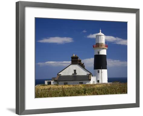 Mine Head Lighthouse-Richard Cummins-Framed Art Print