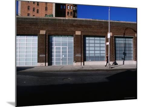Facade and Entrance of the Gagosian Gallery in Soho-Angus Oborn-Mounted Photographic Print