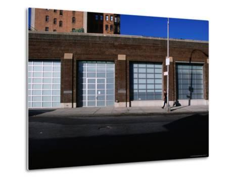 Facade and Entrance of the Gagosian Gallery in Soho-Angus Oborn-Metal Print